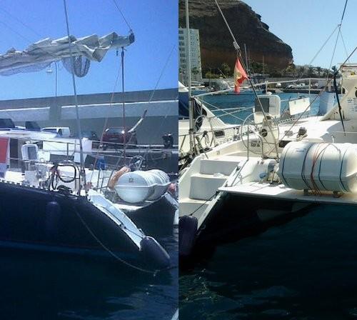 Barco para fiestas  catamaran 52 plazas