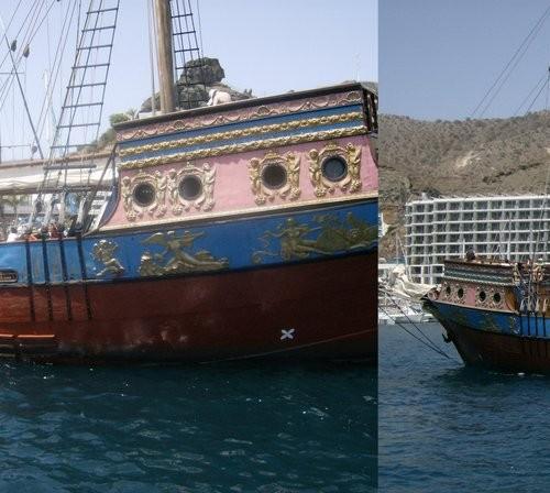 Barco Pirata para fiestas140 plazas