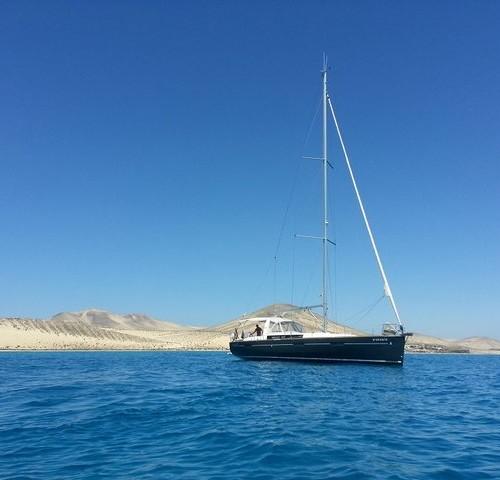 velero en Fuerteventura