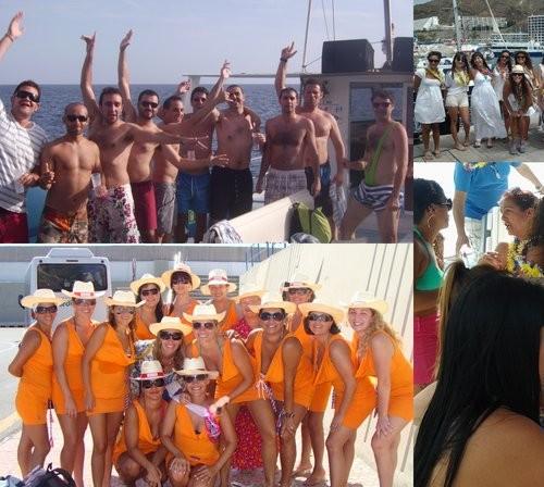 Fiestas en Barco para  despedidas, cumpleaños y demás eventos